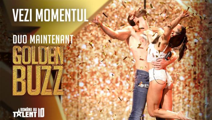 """Momentul Golden Buzz la ProTV. Miahai Petre a ales """"cuplul perfect"""""""