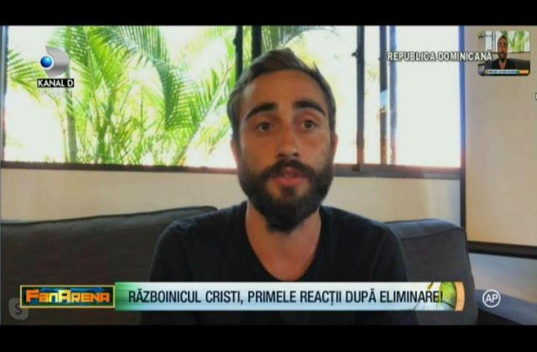Războinicul Cristian a părăsit Survivor, dar e blocat în Republica Dominicană