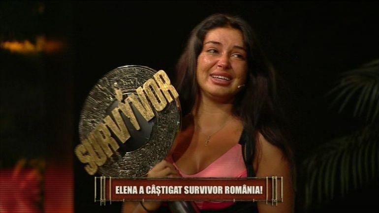 """Elena Ionescu, câștigătoarea Survivor România. """"Prin bunătate poți să ajungi departe"""""""