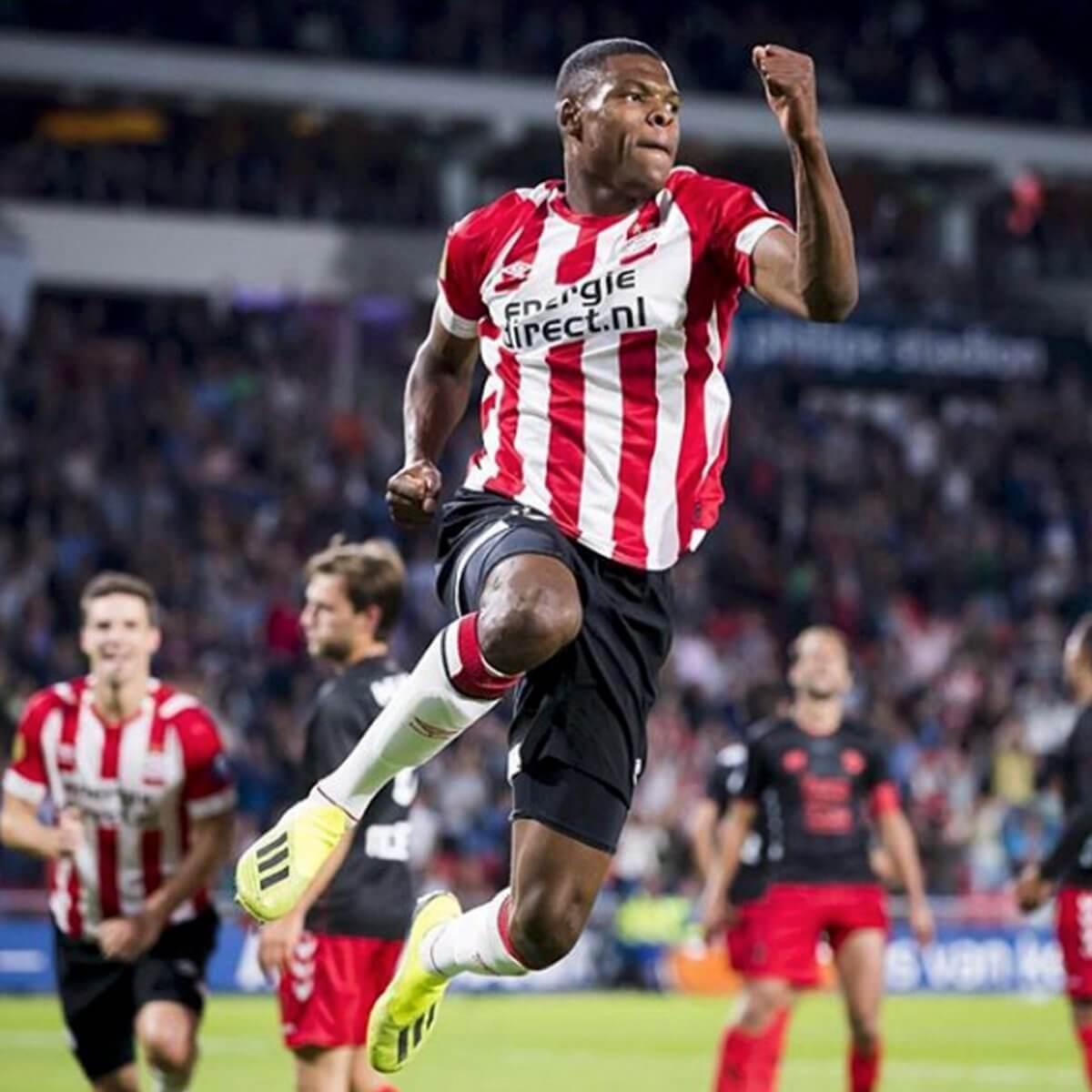 PSV a exclus un jucător de la antrenamente. A participat la un protest antirasism