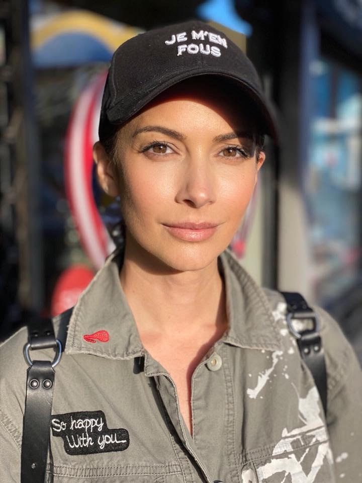 """Andreea Berecleanu, la 45 de ani. """"O fată cu șapcă și jeans"""""""