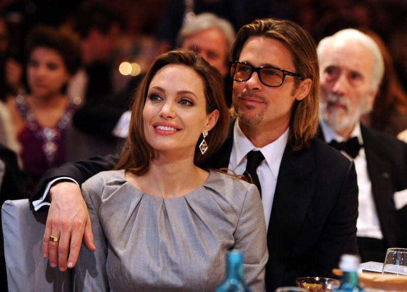 Cine este motociclistul misterios care a vizitat-o pe Angelina Jolie. Fanii sunt in delir!