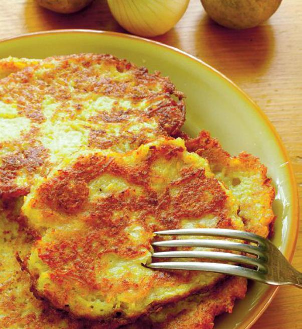 Simplu și rapid. Clătite cu cartofi, atât de gustoase!