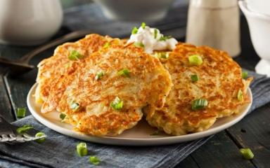 Gustare delicioasă! Clătite cu cartofi