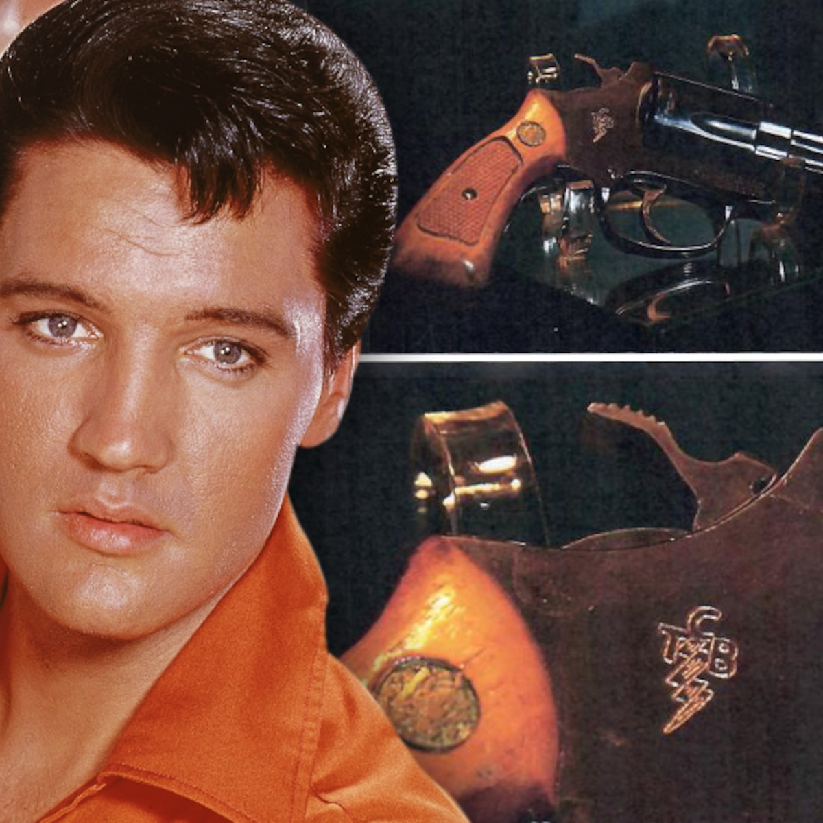 """Elvis Presley, extrem de irascibil în viața reală! """"Îi plăceau la nebunie armele"""""""
