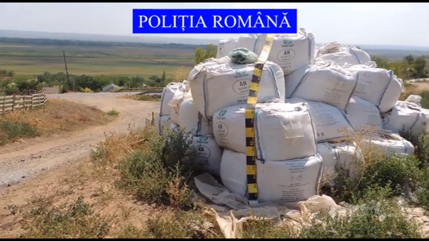 Galați, în pericol de explozie! Depozit de azotat de amoniu, aproape de granița cu Republica Moldova
