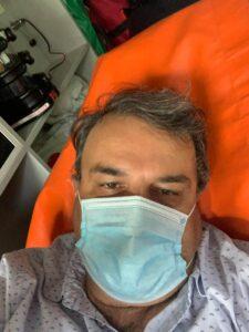 Lucian Mândruță, internat de urgență. Nu s-a mai putut ține pe picioare. Care este rezultatul testului COVID?