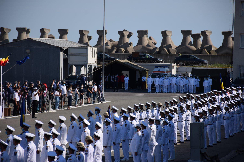 Ceremoniile de Ziua Marinei Române sub semnul pandemiei