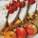 Budincă din pâine și mere, a la chef Horia Vârlan