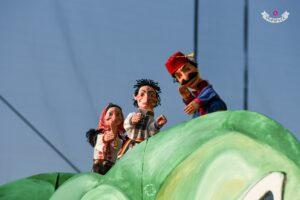 """Primul weekend cu spectacole pentru micii clujeni. Teatrul """"Puck"""" îi invită cu """"Vasilache și Marioara în jurul lumii"""""""