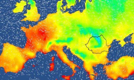 Vreme severă în România. 10 județe lovite de vijelii