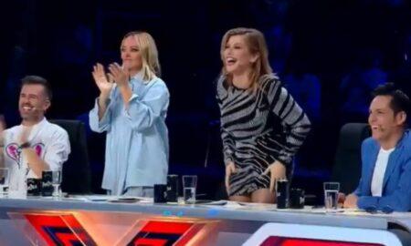 """Surpriză după surpriză la """"X Factor""""! Nepotul lui Florin Salam a ridicat juriul în picioare"""