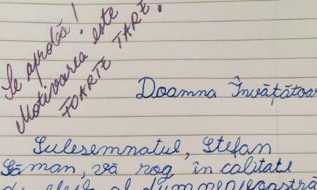 Mesajul unui elev de 10 ani a devenit viral. Ce i-a cerut acesta învățătoarei sale?
