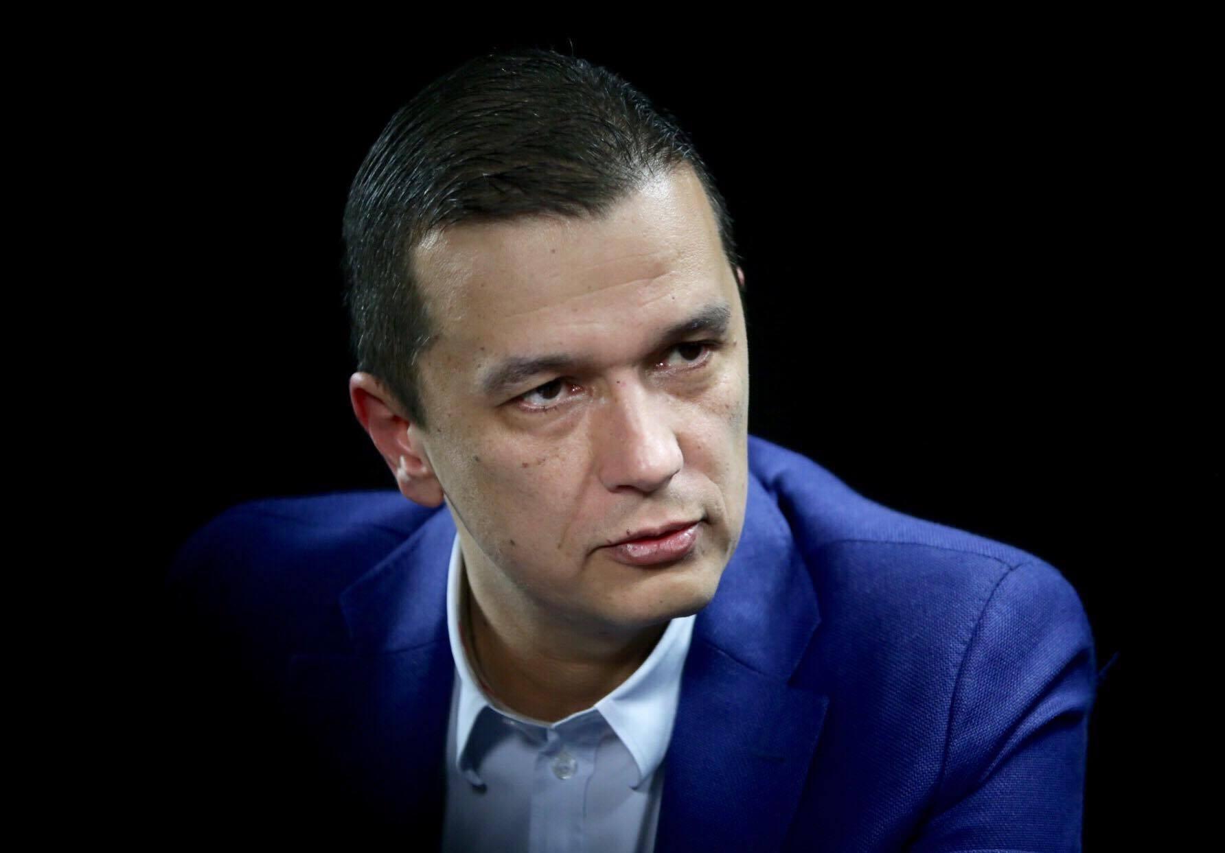 """Sorin Grindeanu îl acuză pe Florin Cîțu: """"Timp de un an, cu fiecare acțiune pe care ați făcut-o, ați îndepărtat România de UE"""""""