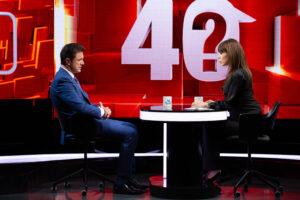 """Gică Popescu, față în față cu Denise Rifai. Totul despre cariera de fotbalist, la """"40 de întrebări"""", pe Kanal D"""