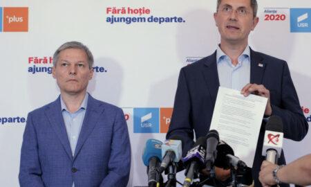 Reacțiile lui Barna și Cioloș privind scandalul din USR-PLUS