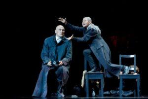 """Gest admirabil! Premiera spectacolului """"Antigona"""" a teatrului Bulandra din București, la Teatrul de Stat din Constanța"""
