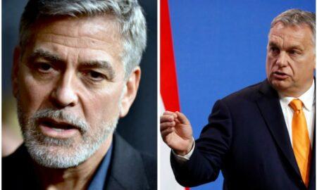 George Clooney i-a dat lovitură de K.O. premierului ungar Viktor Orban. Reacție șocantă a guvernului Ungariei