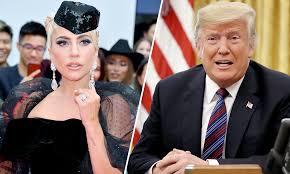 """Lady Gaga, conflict pe social media cu Donald Trump. """"Mă bucur să trăiesc fără să plătesc chirie... în capul vostru"""""""