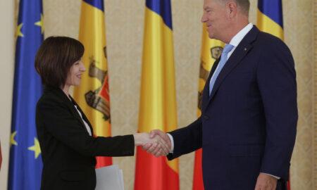 Maia Sandu, victorie istorică în Republica Moldova. Klaus Iohannis, primul președinte de stat care a felicitat-o