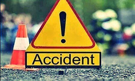Accident cumplit produs la Nădlac. Microbuzul cu 16 pasageri a lovit un autocamion