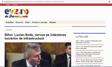 O nouă publicație în Ardeal. Unul dintre cele mai mari site-uri de știri își lansează ediția de Transilvania