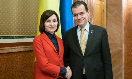 Vot zdrobitor pentru Igor Dodon. Maia Sandu primul președinte femeie în Moldova. Mesajul premierului Ludovic Orban
