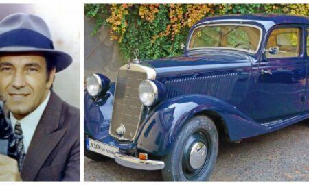 A fost vândută mașina comisarului Moldovan! Cât a costat mașina, un Mercedes-Benz din 1940
