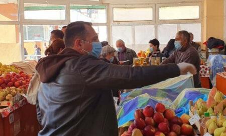 Comercianții locali, ajutați de Primăria din Târgoviște! Piața 1 Mai rămâne deschisă, cu respectarea măsurilor impuse