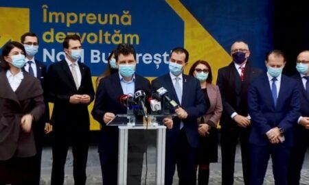 PNL deschide sediul campaniei într-o locație simbol a Bucureștiului. Nicușor Dan promite cooperarea după alegeri