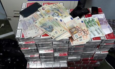 România are cel mai ridicat nivel al contrabandei cu țigarete din Europa de Est. Captură de 101 milioane de țigarete în 2020