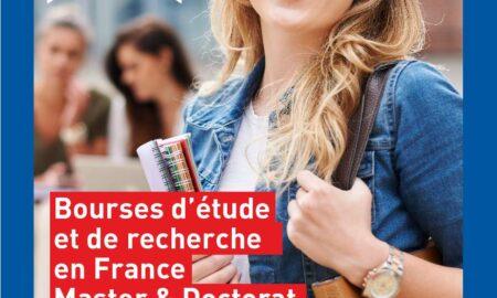 Cerere de candidaturi pentru ediția 2021-2022 a programului de burse din partea Guvernului francez pentru master și doctorat