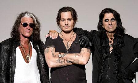 Johnny Depp, Alice Cooper și Joe Perry vin în România. 10.000 de bilete se pun în vânzare începând...