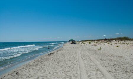 Misterul de pe plaja sălbatică de la Vadu. A apărut de nicăieri