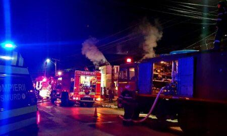 Incendiu puternic la Brașov. 12 copii au trecut pe lângă un mare dezastru
