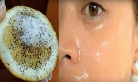 GENIAL! Ce se întâmplă dacă pui câteva picături de zeama de lămaie pe față!