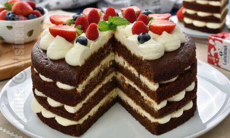 Cel mai bun tort de casă cu turta dulce, frișcă și mascarpone. Rețetă de la Jamila