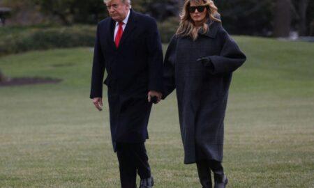 Donald Trump și-a luat adio de la Casa Albă