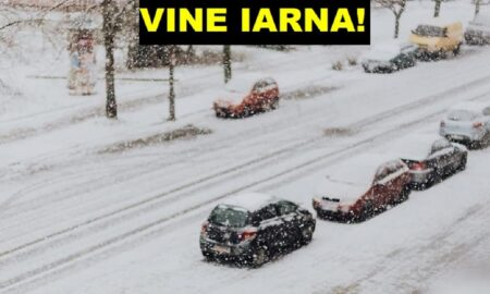 Prognoza meteo. Iarna lovește România. ANM anunță ninsori și vânt puternic