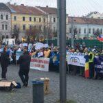 Ample acțiuni de protest în toată țara. Sindicaliștii de la PUBLISIND ies în stradă. Care sunt revendicările