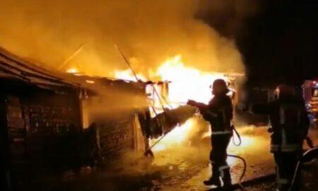 Incendiu puternic la baza sportivă FCSB! Au fost găsite trei victime