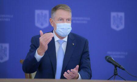 """Președintele Klaus Iohannis despre valul trei de pandemie. """"Va trebui să luăm măsuri punctuale"""""""