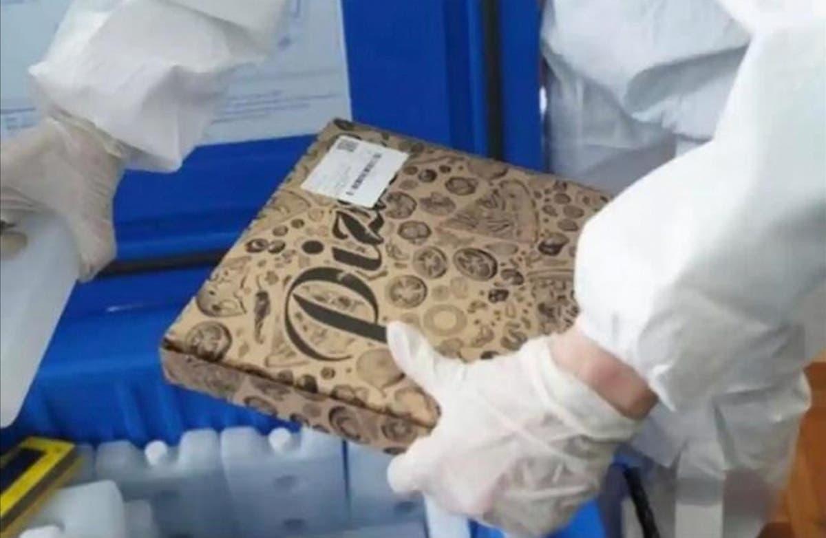 Vaccin anti-COVID transportat în cutii de pizza. Reacția Ministerului Sănătății