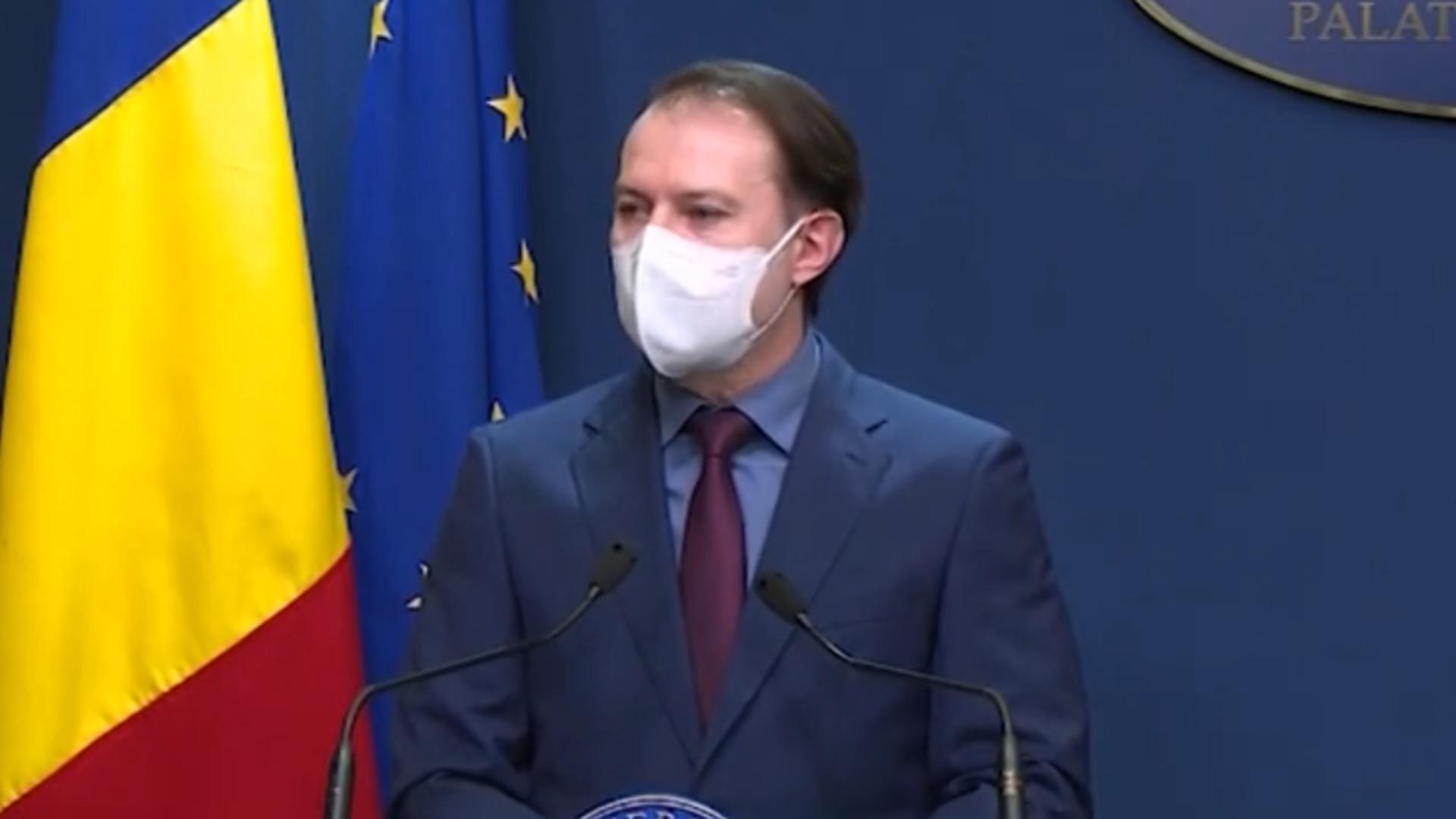 """Florin Cîţu, despre """"miile de amendamente"""" anunţate de PSD la buget: """"Tot ce pot să spun este că nu putem depăşi deficitul de 7,16%"""""""