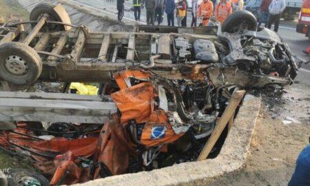 Accident grav în Giurgiu, plan roșu de intervenție: 10 persoane implicate, dintre care trei au fost încarcerate