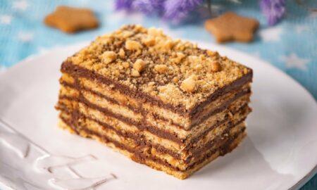 Prăjitură de weekend. Îți lasă gura apă. Se face repede și se mănâncă și mai repede
