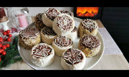 Este iarnă! Să ne batem cu bulgări de zăpadă cu ciocolată. Se topesc…în gură!