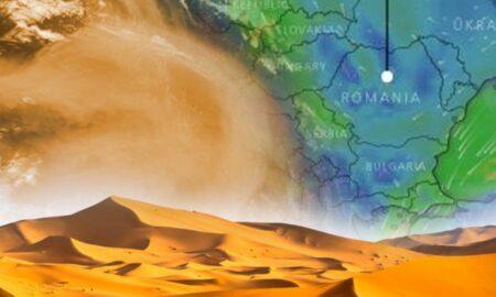 Un nor de praf saharian traversează România. Prognoza meteo pentru 7 februarie 2021
