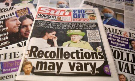 Meghan și prințul Harry în dizgrația britanicilor, dar iubiți de americani. Sondaj după interviul cu Oprah