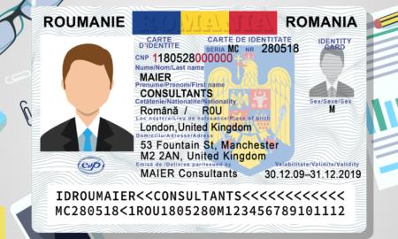 Un nou format de buletine intră în vigoare începând cu luna august 2021. Cum va arăta noua carte de identitate